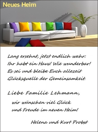 mustertexte f r gl ckw nsche und gr e gl ckwunschkarte. Black Bedroom Furniture Sets. Home Design Ideas
